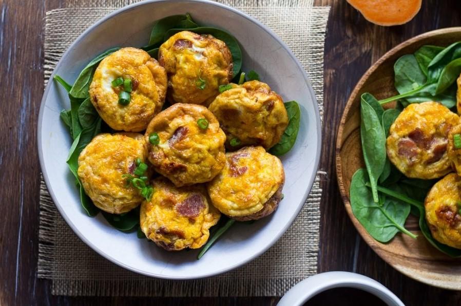 Muffins de batata doce